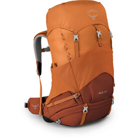 Osprey Ace 38 Rucksack Kinder orange sunset